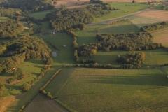 Vue aérienne de l'environnement