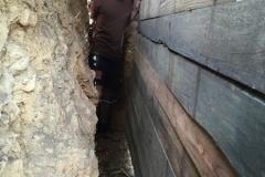 Cabane 2 mètres sous terre