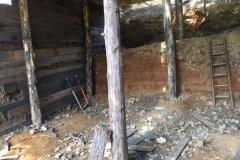 Construction de la cabane